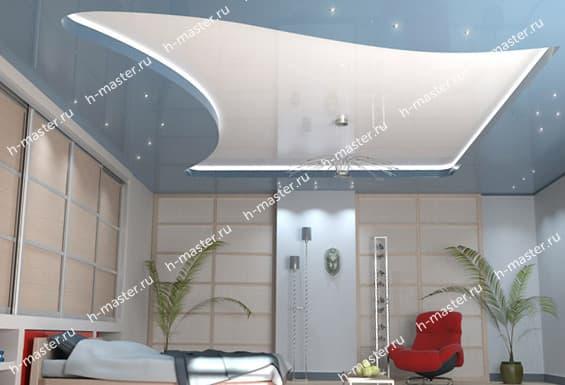 Монтаж натяжных потолков в Новосибирске