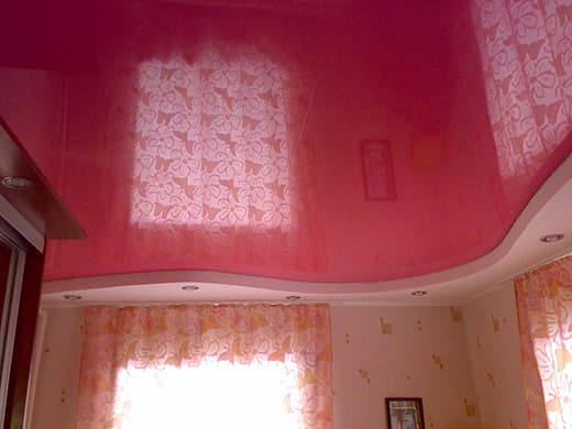 red-ceiling