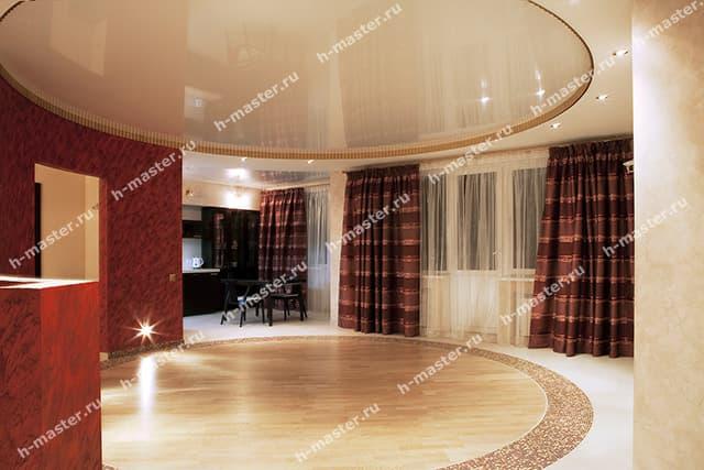 Технические и эстетические характеристики натяжных потолков