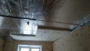 Звукоизоляция натяжных потолков в Новосибирске от компании Классика